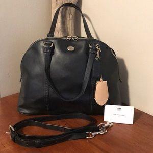 ⭐️ COACH black domed satchel